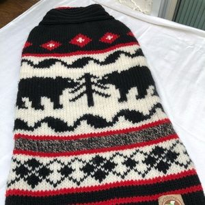 Chilly Dog Wool Sweater